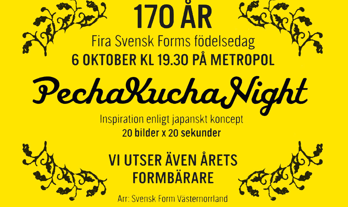 Svensk Form 170 years
