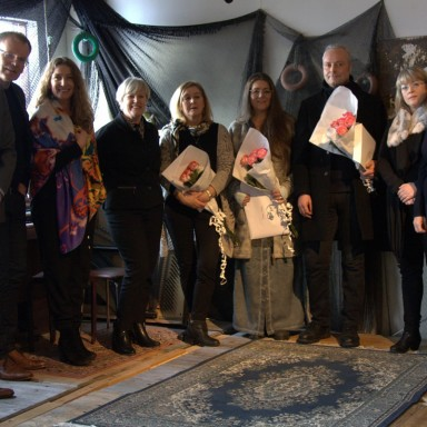 Árni Gunnarsson, Managing Director of Air Iceland, Aðalsteinn Þorsteinsson, Managing Director of Icelandic Regional Development Institute, Hanna Styrmisdóttir, Artistic Director & CEO of Reykjavík Arts Festival, Herdís Sæmundardóttir, Chairman of the Board Icelandic Regional Development Institute, Kristín Jóhannsdóttir, Director of Eldheimar, Mireya Samper, Artistic Director & CEO of Fresh Winds, Gústav Geir Bollason, Director of Verksmidjan, Ragnheiður Jóna Ingimarsdóttir, Cultural Director of Cultural Council of North East Iceland and Þórunn Sigurðardóttir, Chairman of the Board Reykjavik Art Festival.