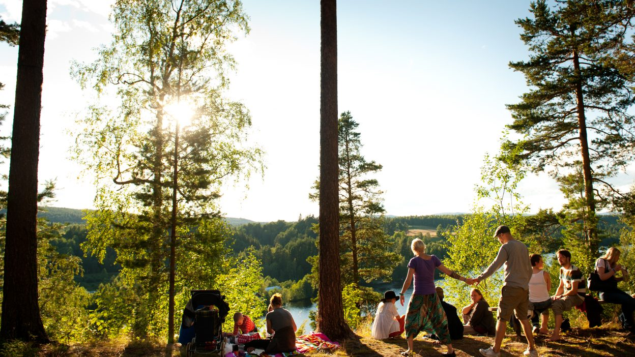 The natural environment surrounding Urkult is stunning and inspiring