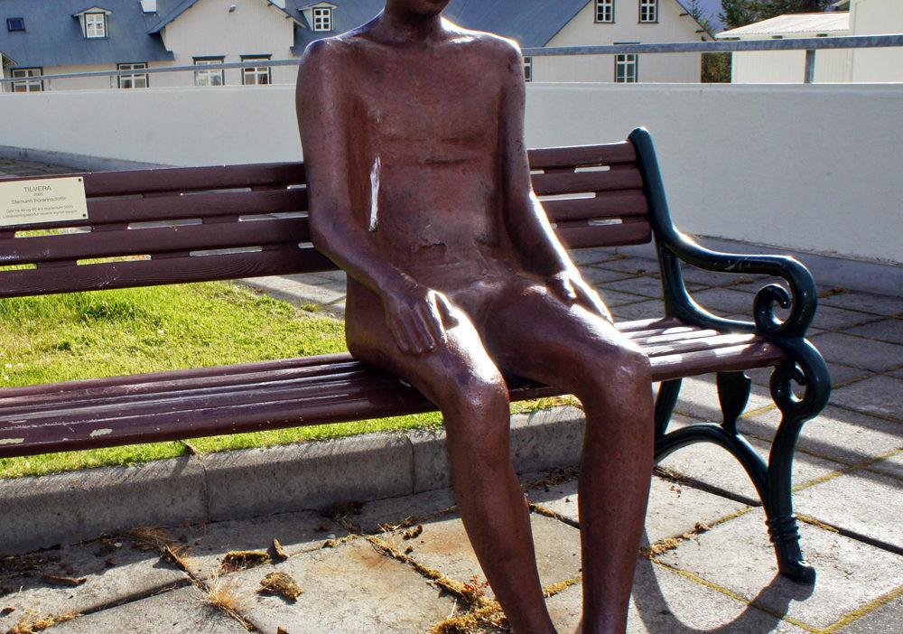 Statue in Akureyri