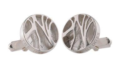 NI SIlver Jewellery Dark Hedges Cufflinks Creative Edge