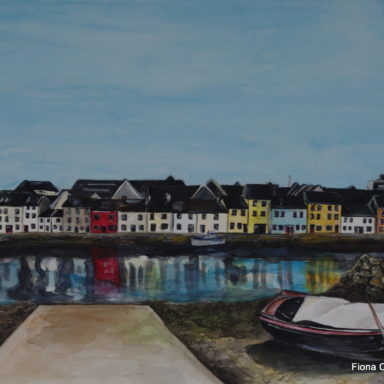The Long Walk   Galway Fiona Concannon Artist