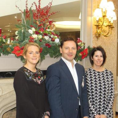 Joanne Casey, Kevin Neary and Dina Coughlan at the Breaffy House Hotel
