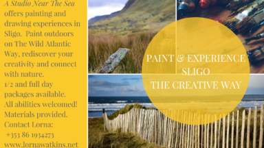 Paint & experience Sligothe creative way