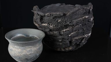 Patricia Millar Bogland Bowl and found vessel