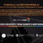 Launch of MyCreativeEdge