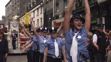 POLICEWOMEN AT MACNAS PARADE