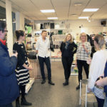 Susanne Arnfridsson, one of the owner of Made in Medelpad welcomed us to the shop.