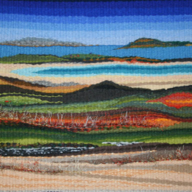 'Glasilaun Beach' Tapestry Weave