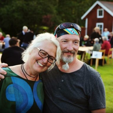 The owners, Susanne and Lelle
