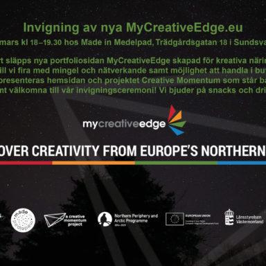 Launch of MyCreativeEdge.eu