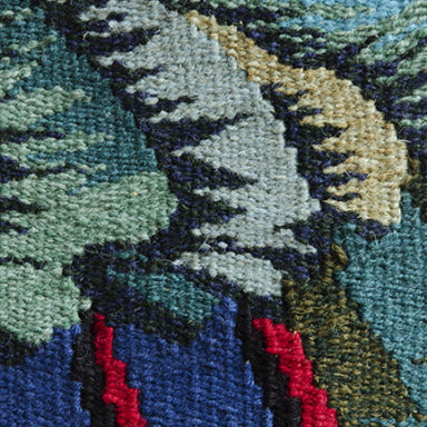 Frances Crowe Tapestry Close up detail