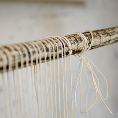 Threads on frame