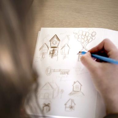 Ruth Graham Sketching