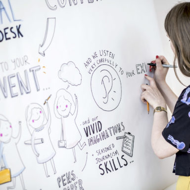 Visual NewsDesk Live Drawing