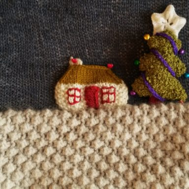 knitted house 066