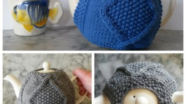 page of teapot cosies