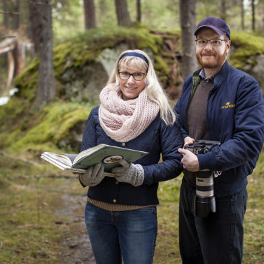 Sara Boström and Lars Wahlström