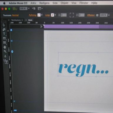 Working in Adobe Muse