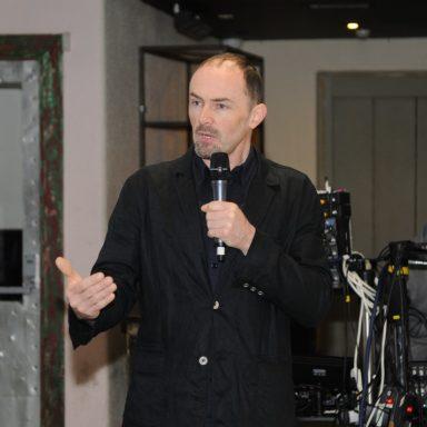 Leo Scarff chairing panel