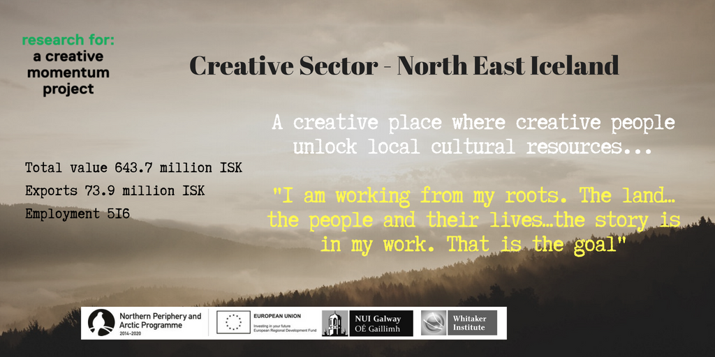 Creative Sector Impact North East Iceland