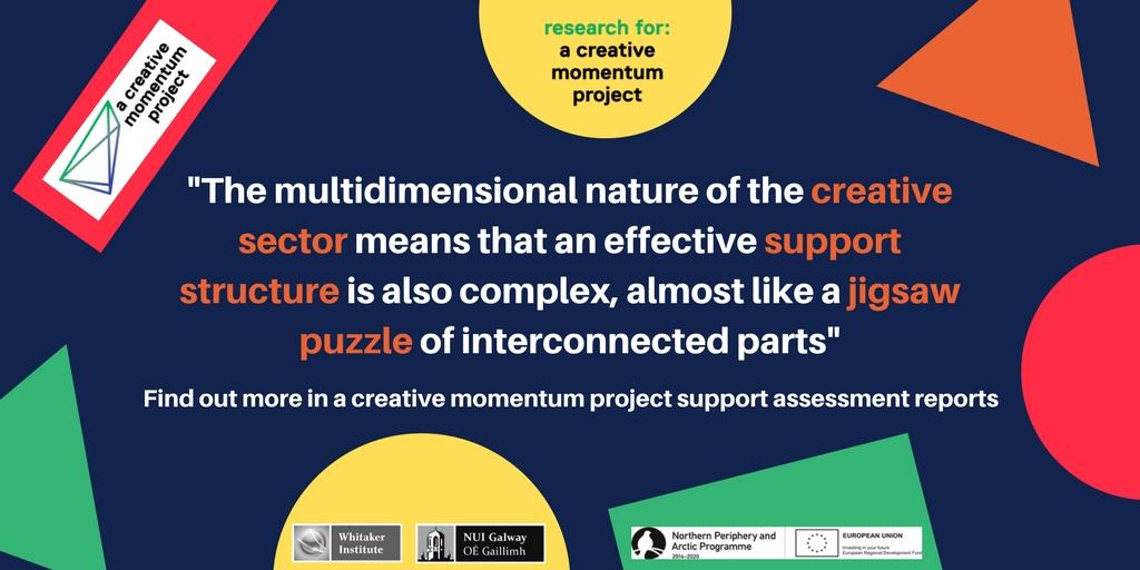 Multidimensional creative sector